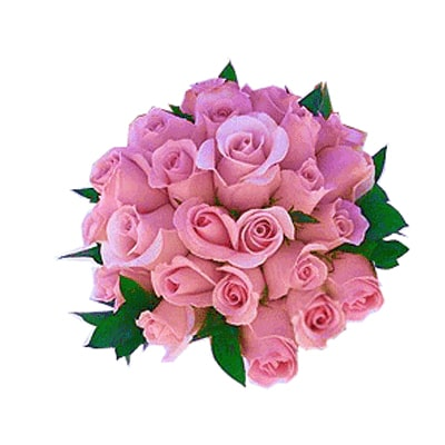 24 Pink Rose Bouquet