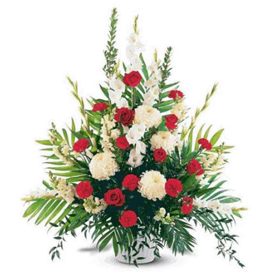 send Gladiolli and Red Roses to mysore