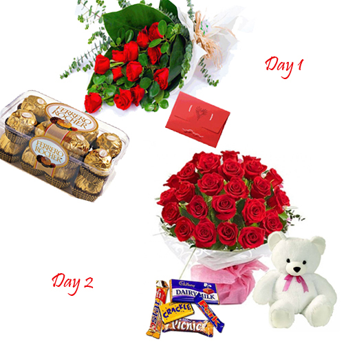 send Valentines Chocolate Hamper to mysore